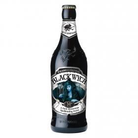 Cerveza Wychwood Black Wych negra botella 50 cl.