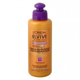 Crema de peinado rizos Aceite extraordinario L'Oréal Elvive 200 ml.