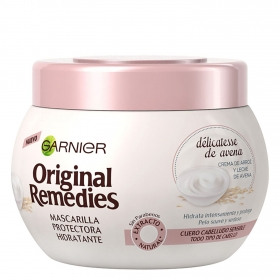 Mascarilla protectora hidratante Délicatesse de avena Original Remedies 300 ml.