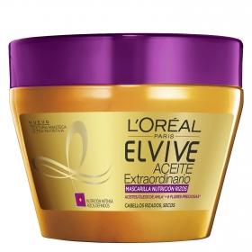 Mascarilla Aceite Extraordinario para cabellos rizados, secos