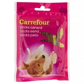 Carrefour Snacks para Perros de Pato 8 uds