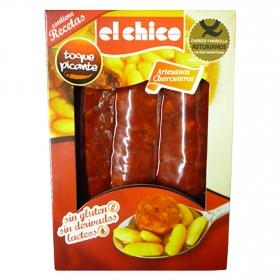 Chorizo y morcilla asturianos toque picante