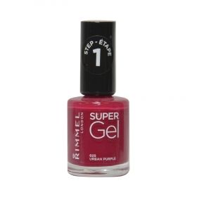 Laca de uñas Super Gel nº 025 Urban Purple Rimmel 1 ud.
