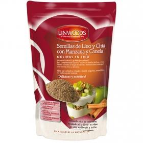 Semillas de lino y chía con manzana y canela molidas Linwoods 200 g.