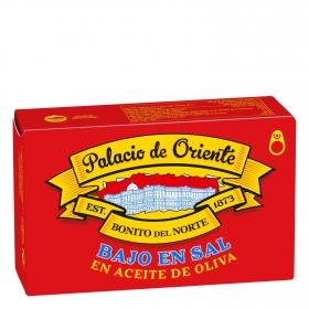 Bonito del norte en aceite de oliva y bajo en sal Palacio de Oriente 72 g.