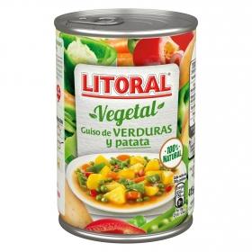 Guiso de verduras y patata Litoral 425 g.
