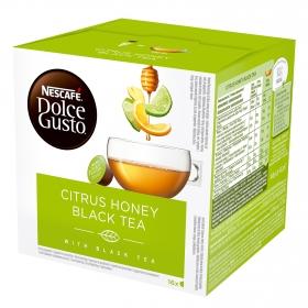 Té negro citrus en cápsulas Nescafé Dolce Gusto 16 ud.