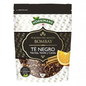 Té negro con naranja, vainilla y canela Hornimans 85 g.