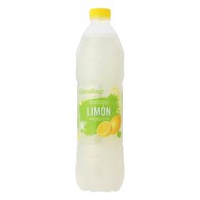 Agua mineral Carrefour con zumo de limón 1,5 l.