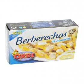 Berberecho al natural 45/55