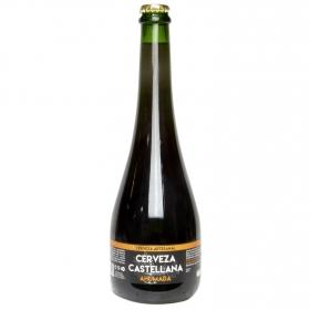 Cerveza artesana Castellana ahumada botella