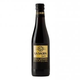 Cerveza artesana La Sagra Bohío Triple Especial botella 33 cl.