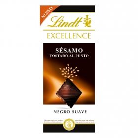 Chocolate negro con sésamo