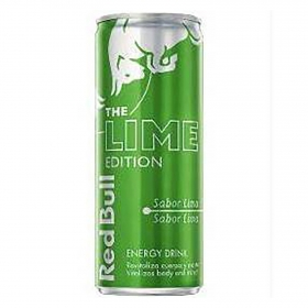 Bebida energética Red Bull The Lime Edition sabor lima 25 cl.