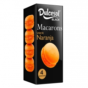 Macaron sabor naranja DulceSol 4 ud.