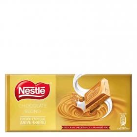 Chocolate blond sabor caramelizado