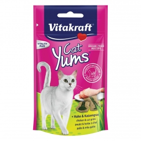 Cat Yums Vitakraft Pollo con Hierba Gatera 40 gr