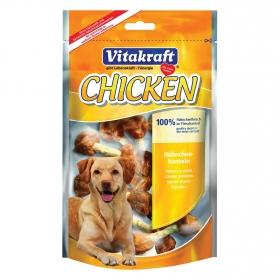 Snack Vitakraft Muslitos de Pollo 100% Naturales para Perros 80 gr