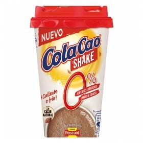 Batido de cacao sin azúcares añadidos shake Cola Cao 200 ml.
