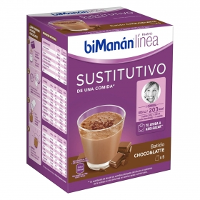 Batido sustitutivo de chocolate Bimanán 5 ud.