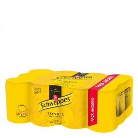Tónica Schweppes Original pack de 12 latas de 25 cl.
