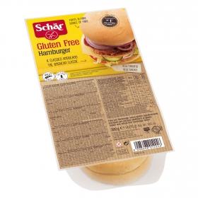 Pan hamburguesa Schär sin gluten 4 ud.