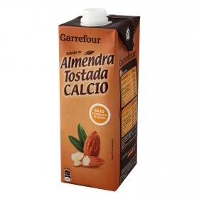Bebida de almendra tostada Carrefour con calcio brik 1 l.