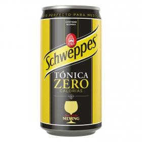 Tónica Schweppes zaro calorías lata 25 cl.