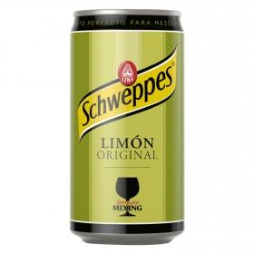 Refresco de limón Schweppes con gas lata