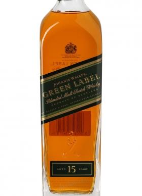 Johnnie Walker Whisky Green Label 15 años