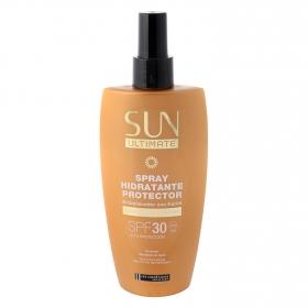 Spray hidratante protector solar