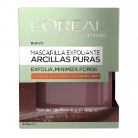 Mascarilla exfoliante Arcillas Puras L'Oréal Skin Expert 50 ml.