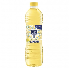 Agua mineral Font Vella Té sabor limón 1,25 l.