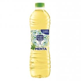 Agua mineral Font Vella Té sabor menta 1,25 l.