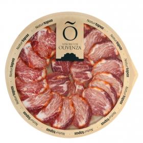 Lomo ibérico de cebo de campo loncheado Señorío de Olivenza plato 90 g
