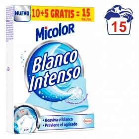 Toallitas blanqueadoras Micolor 15 ud.