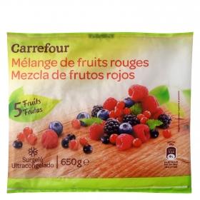 Mezcla de frutos rojos Carrefour 650 g.