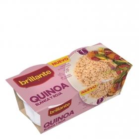 Quinoa blanca y roja Brillante pack de 2 ud. de 125 g.