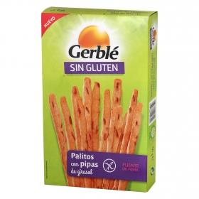 Palitos con pipas de girasol sin gluten