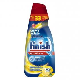 Lavavajillas máquina Todo en 1 aroma limón en gel Finish 33 lavados.