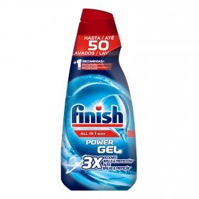 Lavavajillas máquina Todo en 1 en gel Finish 50 lavados.