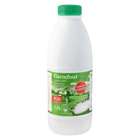 Leche desnatada Carrefour botella 1,5 l.