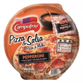 Pizza & Salsa pepperoni Campofrío 355 g.