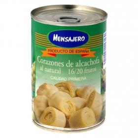 Corazones de alcachofa al natural 16/20 frutos