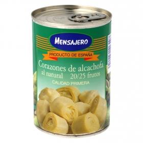 Corazones de alcachofa al natural 20/25 frutos