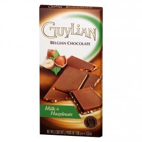 Chocolate belga con leche y avellanas