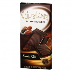 Chocolate negro 72% Guylian 100 g.