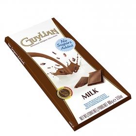 Chocolate con leche sin azúcar