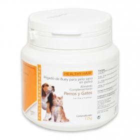 Alimento complementario para pelo sano en polvo perros y gatos