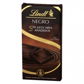 Chocolate negro sin azúcares y sin gluten